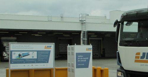 Inbetriebnahme e-Ladesäule im Werk Zwickau